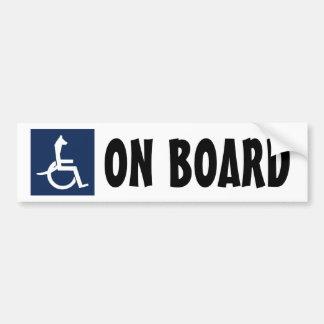 Adhésif pour pare-chocs de fauteuil roulant de Rex Autocollant De Voiture