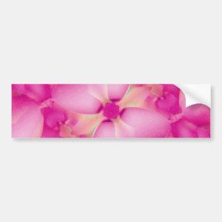 Adhésif pour pare-chocs de fleur de Pinnk Autocollant De Voiture