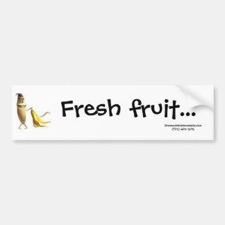 Adhésif pour pare-chocs de fruit frais autocollant pour voiture