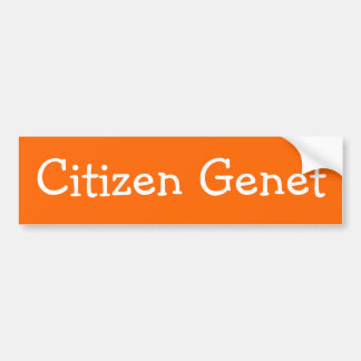 Adhésif pour pare-chocs de Genet de citoyen Autocollant Pour Voiture