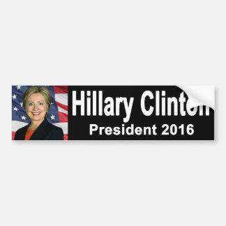 Adhésif pour pare-chocs de Hillary Clinton Autocollant De Voiture
