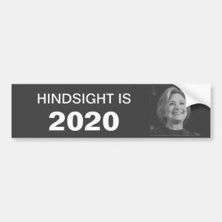 Adhésif pour pare-chocs de Hillary en 2020 Autocollant De Voiture