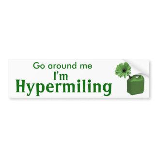 Adhésif pour pare-chocs de Hypermiling I autocollants pour voiture