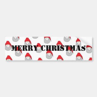 Adhésif pour pare-chocs de Joyeux Noël Autocollant De Voiture