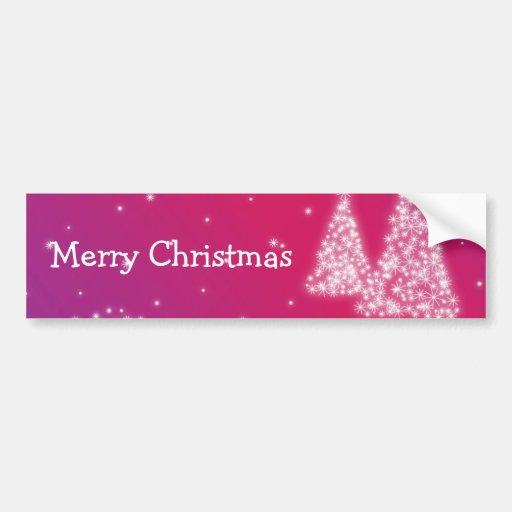 Adhésif pour pare-chocs de Joyeux Noël Adhésifs Pour Voiture