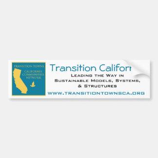 Adhésif pour pare-chocs de la Californie de transi Adhésif Pour Voiture