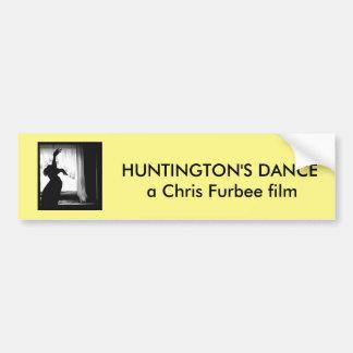Adhésif pour pare-chocs de la danse de Huntington Autocollant Pour Voiture