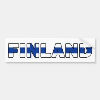 Adhésif pour pare-chocs de la Finlande Autocollant De Voiture
