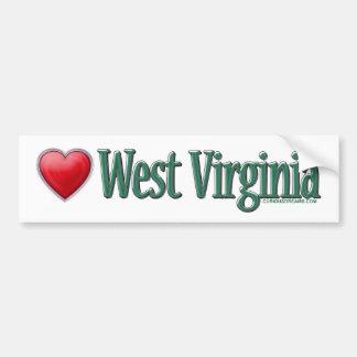 Adhésif pour pare-chocs de la Virginie Occidentale Autocollant De Voiture