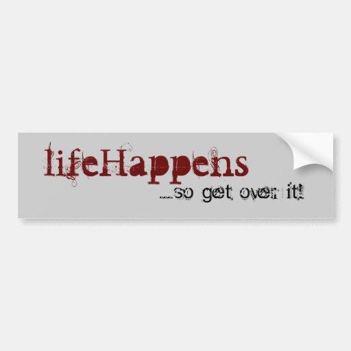 adhésif pour pare-chocs de lifeHappens™ Adhésif Pour Voiture