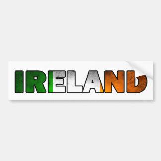 Adhésif pour pare-chocs de l'Irlande Autocollant De Voiture