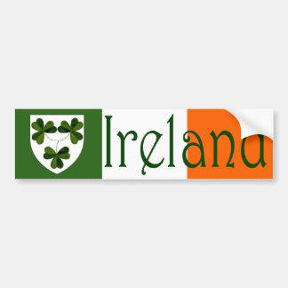 Adhésif pour pare-chocs de l'Irlande Adhésif Pour Voiture