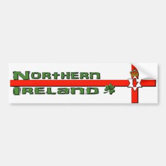 Adhésif pour pare-chocs de l'Irlande du Nord Autocollant Pour Voiture