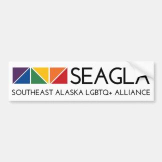 Adhésif pour pare-chocs de logo de SEAGLA Autocollant De Voiture