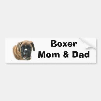 Adhésif pour pare-chocs de maman et de papa de box autocollant pour voiture