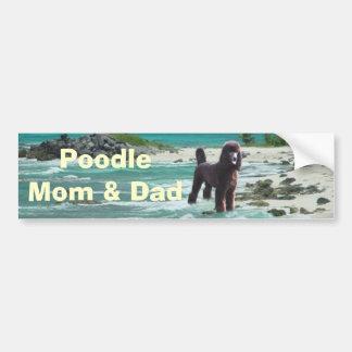 Adhésif pour pare-chocs de maman et de papa de can autocollant pour voiture