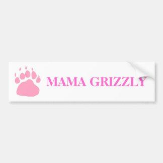 Adhésif pour pare-chocs de maman Grizzly Autocollant Pour Voiture