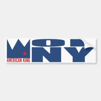 Adhésif pour pare-chocs de MIMS - roi américain de Autocollant Pour Voiture