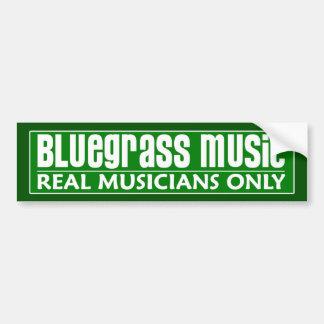 Adhésif pour pare-chocs de musique de Bluegrass Autocollants Pour Voiture