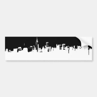 Adhésif pour pare-chocs de New York City d'art de Autocollant De Voiture