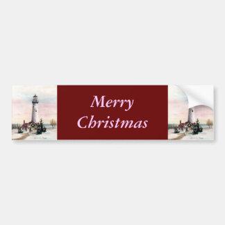 Adhésif pour pare-chocs de Noël de lumière de Noël Autocollant De Voiture