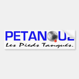 Adhésif pour pare-chocs de Petanque Autocollant De Voiture