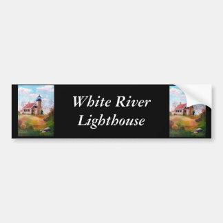 Adhésif pour pare-chocs de phare de White River Autocollant De Voiture