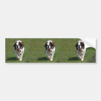 Adhésif pour pare-chocs de photo de chien de St Be Adhésif Pour Voiture