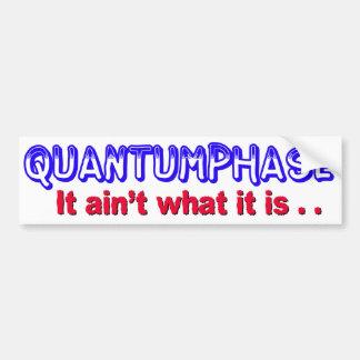 Adhésif pour pare-chocs de Quantumphase Autocollant Pour Voiture