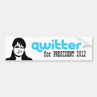 Adhésif pour pare-chocs de Qwitter Autocollant Pour Voiture
