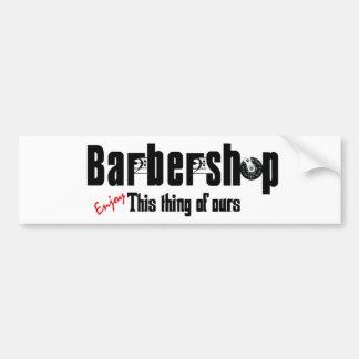 Adhésif pour pare-chocs de raseur-coiffeur autocollant de voiture