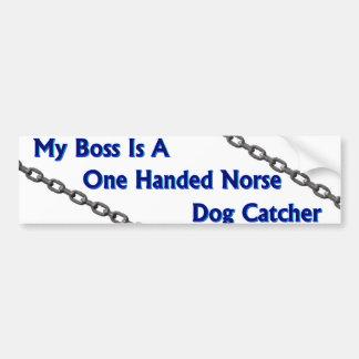 Adhésif pour pare-chocs de receveur de chien autocollant de voiture