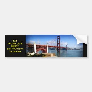 Adhésif pour pare-chocs de San Francisco Autocollant De Voiture