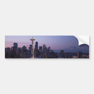 Adhésif pour pare-chocs de Seattle Washington Autocollant De Voiture