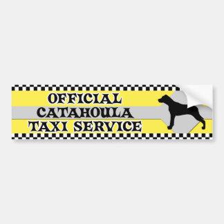 Adhésif pour pare-chocs de service de taxi de Cata Autocollant De Voiture