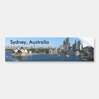 Adhésif pour pare-chocs de Sydney, Australie Autocollant De Voiture