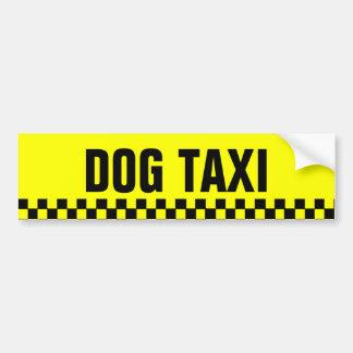 Adhésif pour pare-chocs de taxi de chien autocollant de voiture