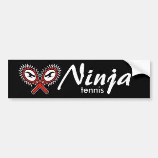 adhésif pour pare-chocs de tennis de ninja autocollant pour voiture
