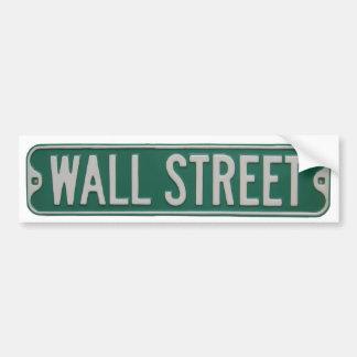 Adhésif pour pare-chocs de Wall Street Autocollant De Voiture