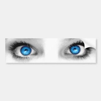 Adhésif pour pare-chocs de yeux regardants autocollant pour voiture
