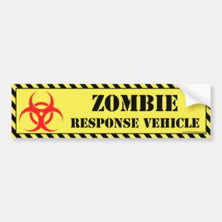 Adhésif pour pare-chocs de zombi autocollant pour voiture