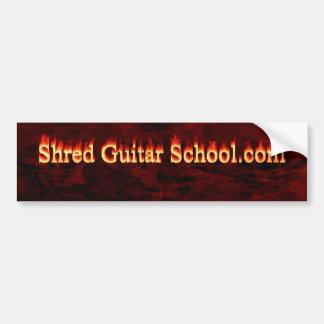 Adhésif pour pare-chocs d'école de guitare de lamb autocollant pour voiture