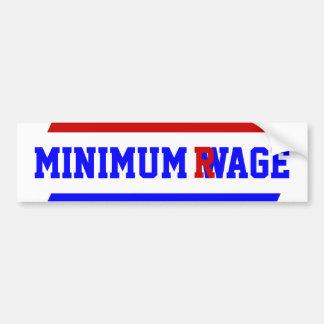 Adhésif pour pare-chocs d'économie de salaire de autocollant de voiture