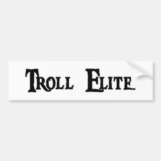 Adhésif pour pare-chocs d'élite de Troll Autocollant De Voiture