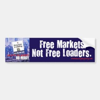 Adhésif pour pare-chocs des marchés libres autocollant pour voiture