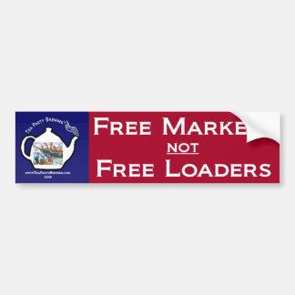 Adhésif pour pare-chocs des marchés libres de thé autocollant de voiture