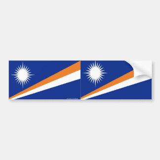 Adhésif pour pare-chocs d'îles de Maarshall Autocollant De Voiture