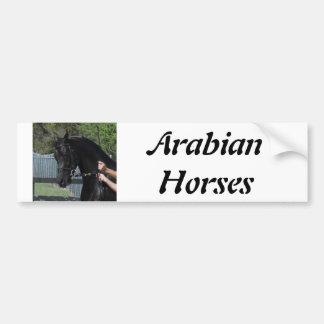 Adhésif pour pare-chocs disponible de cheval Arabe Autocollant De Voiture