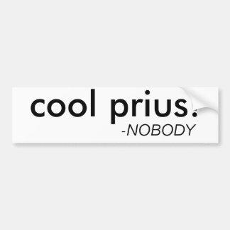 """Adhésif pour pare-chocs drôle """"de Prius frais"""" Autocollant Pour Voiture"""
