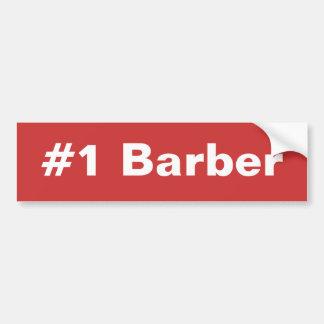 Adhésif pour pare-chocs du coiffeur #1 autocollant de voiture